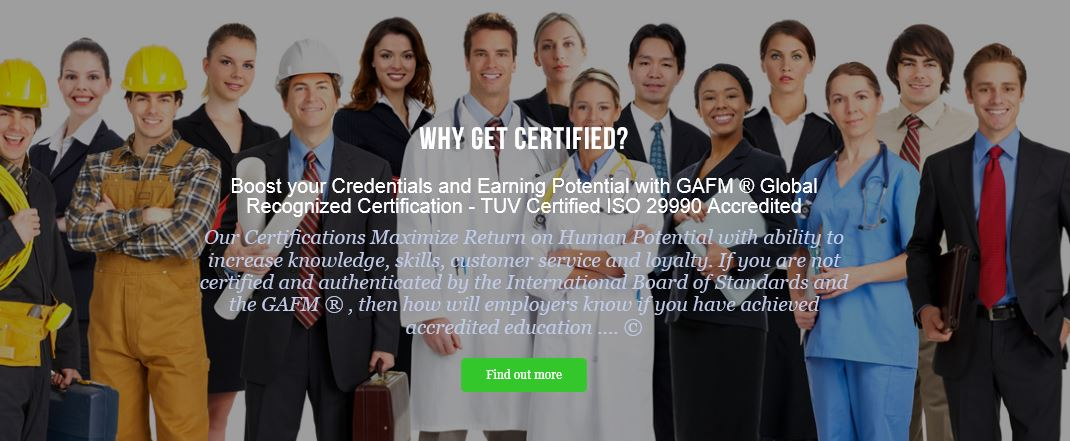 Accredited Certification Programs Training Certified